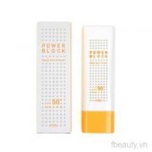 Kem chống nắng Apieu power block daily sun cream spf50+pa++++
