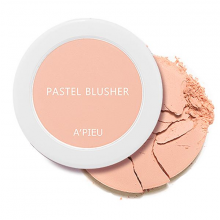 Phấn má hồng Apieu pastel blusher cr02