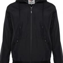 Áo khoác dù nam chống nắng có nón AKD23 PigoFashion màu đen