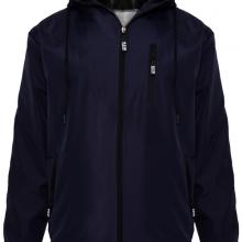 Áo khoác dù nam chống nắng có nón AKD28 PigoFashion màu xanh đen