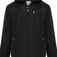 Áo khoác dù nam chống tia UV có nón AKD28 PigoFashion đen