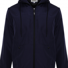Áo khoác dù nam chống nắng có nón AKD23 PigoFashion xanh đen