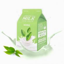 Mặt nạ dưỡng da Apieu Milk Green Tea One Pack 21ml