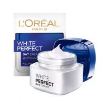 Kem dưỡng da trắng mượt đều màu ban ngày Loreal paris white perfect day cream spf17 pa 50ml