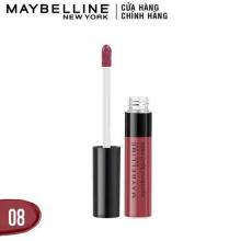 Son kem Maybeline sensational hồng đất 08