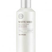 Nước cân bằng trắng da The Face Shop white seed brightening toner 160ml