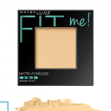Phấn nền Maybelline fit me matte poreless powder 110 pore