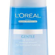 Nước tẩy trang mắt và môi Loreal paris gentle care 125ml