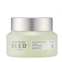 Kem dưỡng chống lão hóa The Face Shop Green Natural Seed Antioxidant Cream 50ml