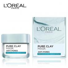 Mặt nạ đất sét kiềm dầu se khít lỗ chân lông LOreal Paris Pure Clay Mask Anti Pores 50ml