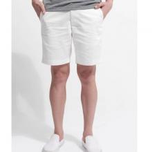 Quần shorts nam The Cosmo Eddy Shorts màu trắng TC1025020R1WH