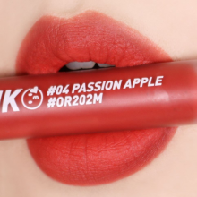 Son kem Peripera ink matte blur tint 04 passion apple