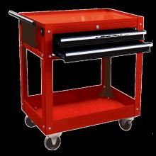 Xe đẩy dụng cụ 3 ngăn có bánh xe KOWON KTC333-X
