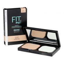 Phấn nền dành cho da thường, da dầu Maybelline Fit Me Powder Foundation SPF32PA+++ 220 Natural Beige 9g
