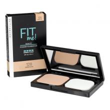 Phấn nền dành cho da thường, da dầu Maybelline Fit Me Powder Foundation SPF32PA+++ 128 Warm Nude 9g