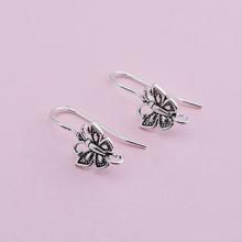 Móc bông tai bạc hình bưóm (bạc thái) - Ngọc Quý Gemstones