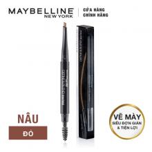 Chì chân mày Define Blend Brow Pencil Maybeline, red brown