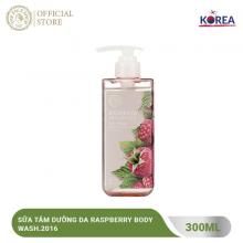 Sữa tắm dưỡng da The Face Shop Raspberry Body Wash.2016 300ml