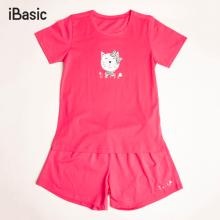 Đồ mặc nhà nữ cotton ngắn iBasic HOMY029