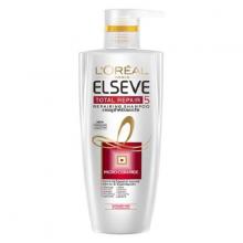Dầu gội phục hồi tóc hư tổn Loreal Paris Elseve Total Repair 5 Repairing Shampoo 650ml