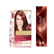 Thuốc nhuộm tóc Loreal 5.6 Red Light BrownExcellence Cream 172ml