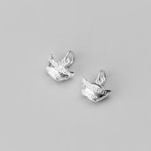 Charm bạc thỏi bạc treo (bạc trắng) - Ngọc Quý Gemstones