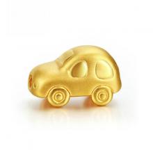 Charm bạc mô hình 3D xe hơi xỏ ngang - Ngọc Quý Gemstones