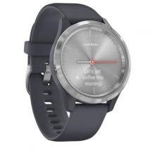 Đồng hồ thông minh Garmin Vivomove 3S, Granite Blue w-Silver