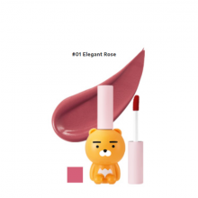 Son kem The Face Shop ryan velvet lip tint kakao 01