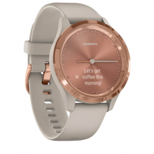 Đồng hồ thông minh Garmin Vivomove 3S, Light Sand w-Rose Gold