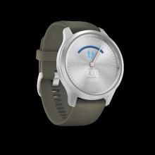 Đồng hồ thông minh Garmin Vivomove StyleMoss Green with Silver