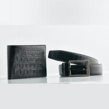 Combo thắt lưng + ví da nam cao cấp Opal DAT3-03