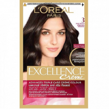 Thuốc nhuộm tóc LOreal 3 Natural Dark Brown Cream Hair Color Excellence