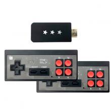 Máy chơi game 4 nút HDMI di động mini dùng cho TV và Laptop Aturos EMX041 với 621 game tích hợp