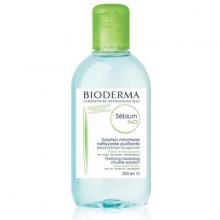 Nước tẩy trang dành cho da dầu, da mụn Bioderma Sebium H2O 250ml
