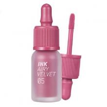 Son kem Peripera ink airy velvet 005 genius rosy pink
