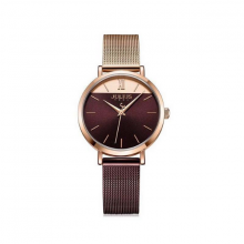 Đồng hồ nữ dây kim loại chính hãng Julius Hàn Quốc JA-1237C.