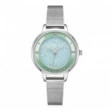 Đồng hồ nữ dây kim loại chính hãng Julius Hàn Quốc JA-1216A Bạc.