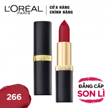 Son lì mịn môi Loreal Paris Pure Rouge  266 3.7g