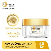 Kem dưỡng ban ngày tinh chất vàng ngăn ngừa lão hóa SPF25 Bio Essence 24K Gold Day Cream 40ml