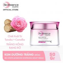 Kem dưỡng sáng da ban đêm Bio Essence Tanaka White Double Whitening Renewal Night Cream