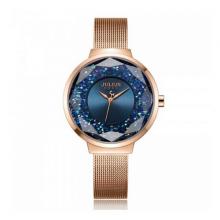 Đồng hồ nữ dây kim loại chính hãng Julius Hàn Quốc JA-1111C (Đồng xanh)