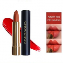 Son thỏi Chou Chou no.3 autumn rose Premium Matte 14k Gold Edition 3.5g