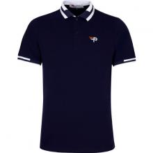 Áo thun nam cổ bể pigofashion phiên bản đặc biệt màu sắc trẻ trung aht26 màu xanh đen