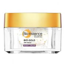Kem dưỡng ban đêm tinh chất vàng ngăn ngừa lão hóa Bio Eessence 24K Gold Night Cream 40ml