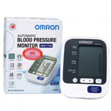 Máy đo huyết áp bắp tay Omron Hem-7130 Nhật Bản + Tặng kèm nhiệt kế điện tử đầu mềm Takano