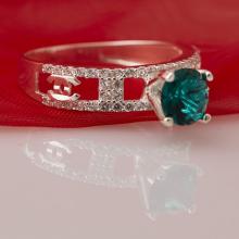 Nhẫn bạc đính đá Ross - Opal - RT5-08