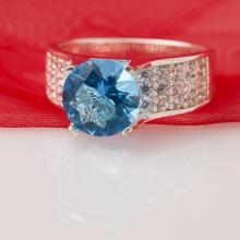 Nhẫn bạc đính đá Ross - Opal - RT5-10