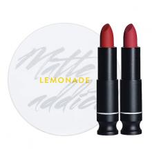 Son lì Lemonade Matte Addict Lipstick màu A02 Shopping đỏ đất