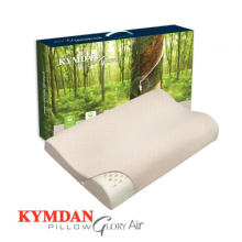 Gối cao su thiên nhiên Kymdan Pillow Glory Air 60 x 38 x 8,5 - 5,5 - 8 cm